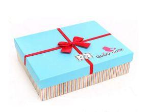 Proveedor fiable hecho personalizado Papel cartón cajas de regalo (FLB-9355)