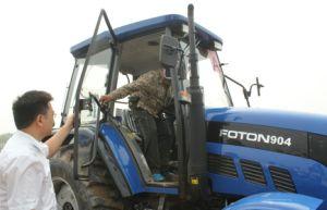 China 90HP Fornecedor do Trator de Rodas Agrícolas