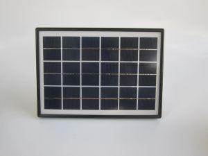 Casa de Camping portátil con sistema de iluminación solar panel solar 5W
