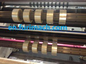 Fr-218 la película de poliéster de rebobinado de corte longitudinal la máquina cortadora longitudinal (Película)