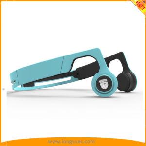 骨導Bluetoothはゴムひもが付いているヘッドホーンのSweatproofのヘッドセットを遊ばす