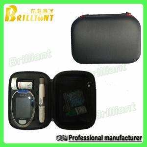 Hot Sale de protection EVA Portable Glucometer Cas avec insert (KTC-002)