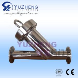 Tipo sanitário filtro da extremidade Y da braçadeira do aço inoxidável