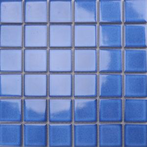 Salle De Bains En Mosaique En Ceramique Foshan Mosaique Bleu Pour