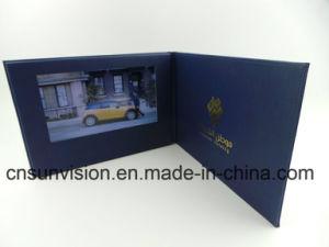 선수 사업 브로셔를 광고하는 A4 PU 7  LCD