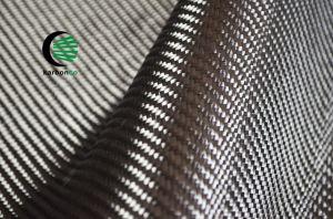 240 г/м2 углерода ткань Саржа 2X2 3K с эпоксидный клей для скрепления клеем
