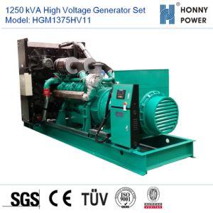 1250 ква генератором высокого напряжения установлен двигатель Googol 10-11кв с 50Гц