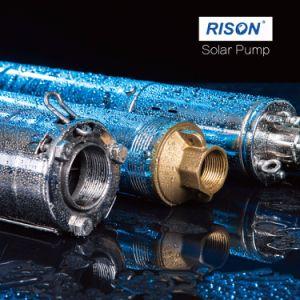 3pouces submersible pompe solaire avec 24V, 36V, 48 V, 72V, 90V