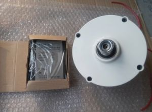 無声100W 12V/24V Pmgの永久マグネット発電機