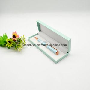 Verde menta Elegante Bolígrafo de metal para regalo con el lápiz de verificación (LTY- 0001)