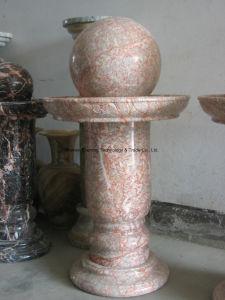 De natuurlijke Rolling fontein van de Bal van het Graniet Marmeren in Tuin