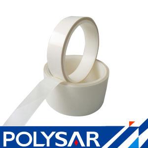 Disolvente de doble cara cinta selladora con papel blanco para el teléfono troquelado