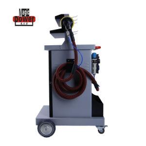 セリウムの承認の車のペンキのための塵抽出器が付いている移動式乾燥した紙やすりで磨く機械