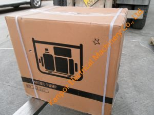 4'' 100mm 4inch diesel portable avec la pompe à eau de qualité supérieure