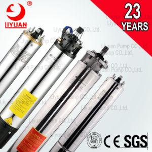 Fase 3 de 240V 380V 10HP HP 15Energía Solar de bomba de agua sumergible 6