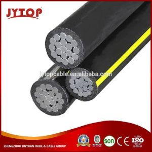 cavo isolato spese generali di alluminio Triplex secondarie del conduttore del cavo di 600V Urd