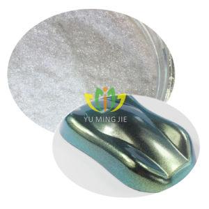 광학적인 변하기 쉬운 안전 카멜레온 안료 또는 광학적인 변하기 쉬운 색깔 교대 안료