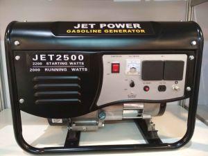 2200W портативные бензиновые электростанции с электроприводом и начать