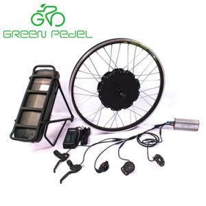 Greenpedel 36V 500W 48V 750Wの電気バイクのGearlessハブモーター変換キット