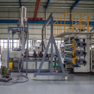 PVC模造大理石シートの生産ライン