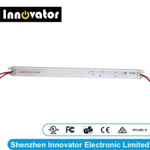 Alimentazione elettrica ultra sottile della casella chiara LED dell'OEM DC12V 1.5A 2A 3A 4A 5A del ODM di sostegno