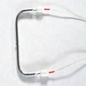 U-Shape Quartz de chauffage du tube de chauffage infrarouge