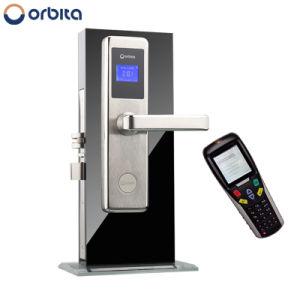 Bloqueador eléctrico da porta do cartão chave Luxury Hotel Trave com o software