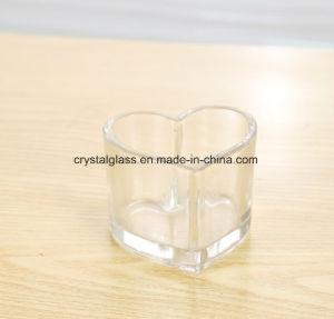 Hot Sale Heart-Shaped Bouteille de verre