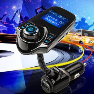 Novo Telefone Inteligente Mãos Livres Bluetoothe Carro Transmissor FM do leitor de MP3