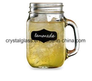ハンドルが付いている形の石大工のガラス瓶をカスタマイズしなさい