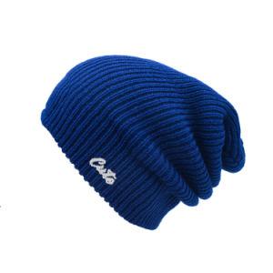 昇進の低価格の平野によって編まれる刺繍のロゴの帽子