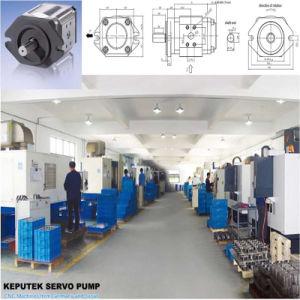 Ra23-10 Kp-Eipc6-125Bomba de engranajes internos Servobomba para máquina de moldeo por inyección