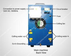 デスクトップの高周波誘導電気加熱炉