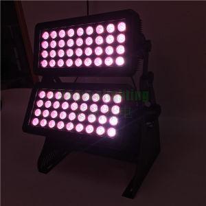 72X10W屋外LEDの壁の洗濯機ライト
