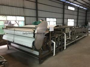 Твердые жидкие разделительной ленты нажмите машины для завода по очистке сточных вод
