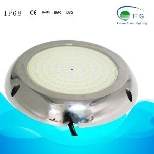 IP68 316 ss полимера заполнены 18W желтый светодиод бассейн лампа