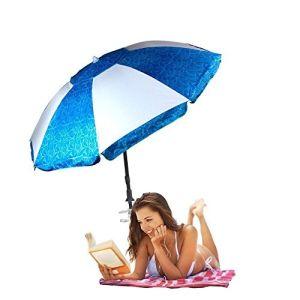 Paraguas playa azul con 8 Ligns Promoción PARAGUAS paraguas Publicidad
