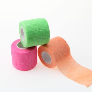 verband van de Scheur van de Hand van 2.5cm*4.5m het Niet-geweven Samenhangende Zelfklevende Elastische