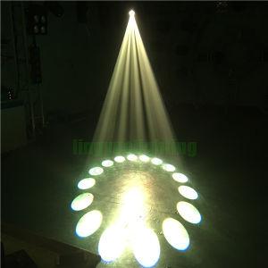17rビーム点の洗浄LED移動ヘッド350W