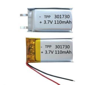 파란 이를 위한 Llithium 중합체 재충전 전지 3.7V 220mAh (TPP501730)