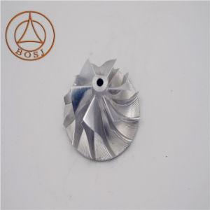 5つの車軸CNC製粉のチタニウムのターボの鋼片ポンプ圧縮機のインペラー車輪