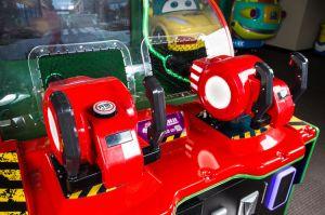 Zombie Outbreak Dispara bolas juego de la redención de la máquina Arcade