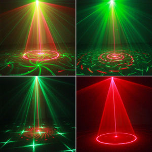 小型レーザー光線グループ党ライト広い範囲12パターン