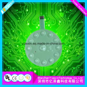 Interruttore tattile della varia di generi della tastiera di tocco cupola del metallo con l'indicatore luminoso dell'animale domestico LED