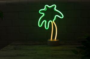 Neonlicht des Kokosnuss-Baum-LED für Tisch-Dekoration
