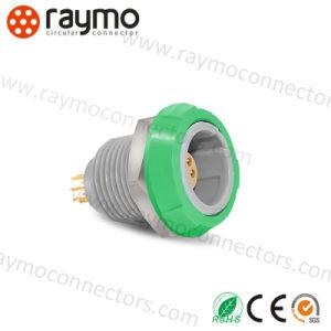 コネクターを受けとっている互換性のある価格の熱い販売の互換性のあるLemos ECG 00b 3 Pinの金属の円のプッシュプル自己
