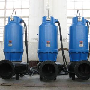 Submersible pompe verticale