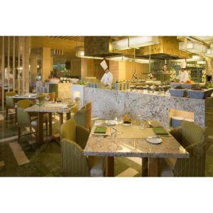 Hermoso diseño de madera juego de mesa de comedor Muebles Hotel