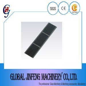 유리제 직선 테두리 기계 (JFC025)를 위한 대중적인 고무 격판덮개