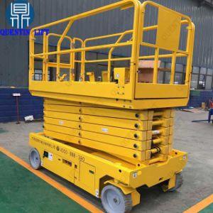 De gemotoriseerde Liften Op batterijen van de Lift van de Schaar om Platform van de Lift van 10m te bewegen het Gemotoriseerde Bewegende